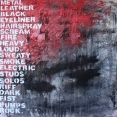 "Metallic Poem, oil on canvas, 36"" x 36"", 2014"